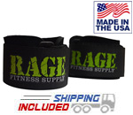 USA Made Neoprene Wrist Supports by Rage Fitness Supply