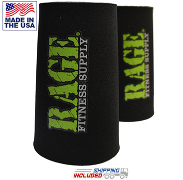 RAGE Neoprene Wrist Savers (Pair) for Kettlebell and Gymnastic Ring Training