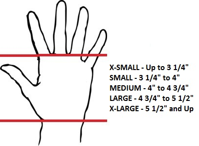 Rage Fitness hand grip sizing