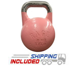 RAGE Competition Kettlebell - 8 KG Pink Ribbon Edition