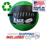 "6 lb. RAGE 10"" USA-Made junior Medicine Ball"