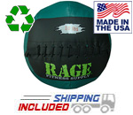 "10 lb. RAGE 14"" USA-Made Medicine Ball"