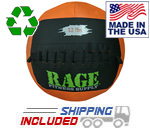 "12 lb. RAGE 14"" USA-Made Medicine Ball"