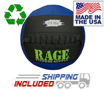 "14 lb. RAGE 14"" USA-Made Medicine Ball"