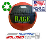 "16 lb. RAGE 14"" USA-Made Medicine Ball"