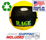 "18 lb. RAGE 14"" USA-Made Medicine Ball"