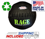 "20 lb. RAGE 14"" USA-Made Medicine Ball"