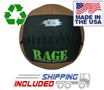 "24 lb. RAGE 14"" USA-Made Medicine Ball"