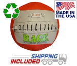 "8 lb. RAGE 14"" USA-Made Medicine Ball"