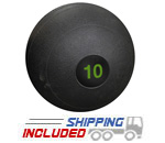 10 lb. Black RAGE Heavy Duty Slam Ball