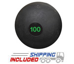 100 lb. Black RAGE Heavy Duty Slam Ball