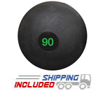 90 lb. Black RAGE Heavy Duty Slam Ball