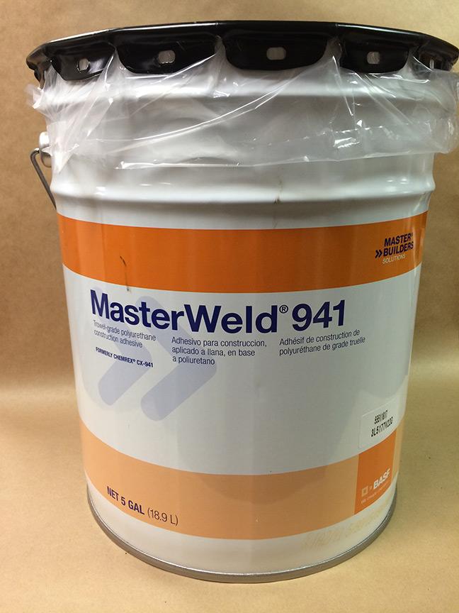 Masterweld 941 Indoor Outdoor Rubber Flooring Adhesive