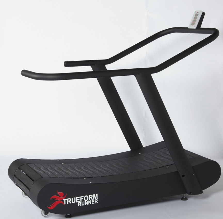 Trueform runner non motorized curved treadmill samsara for Best non motorized treadmill