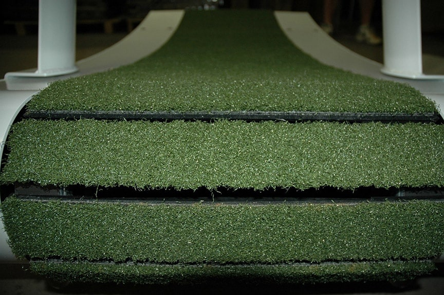 TrueForm Runner Treadmill with Artificial Grass Running Surface