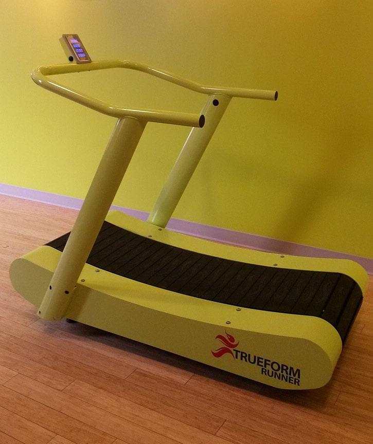 True Elliptical Company: TrueForm Runner Non-Motorized Curved Treadmill -- Samsara