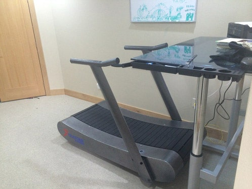 TrueForm Runner Walking Desk Treadmill for Standing Desks