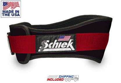 Schiek 3004 Power Lifting Contoured Weight Belt