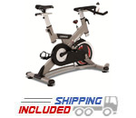 Spirit Fitness CB900 Commercial Indoor Cycle with Belt Drive