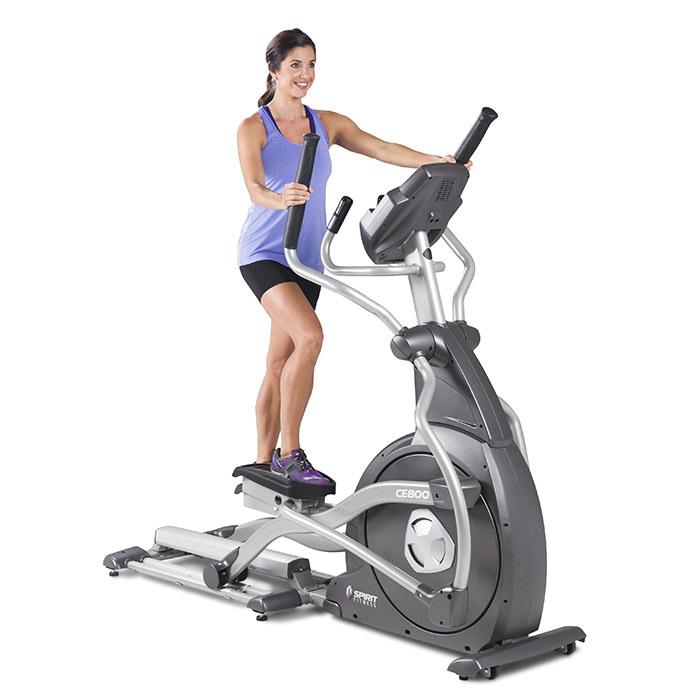 Commercial Elliptical Trainer -- Spirit Fitness (CE800