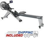 Spirit Fitness CRW800 Commercial Rower with Air and Magnetic Resistance