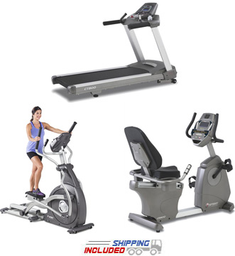 Spirit Fitness Commercial Cardio Package for Commercial Gyms