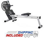Spirit Fitness XTERRA Magnetic and Air Resistance Indoor Rowing Machine