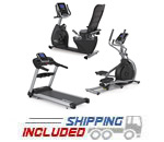 Spirit Fitness Light Commercial Cardio Package