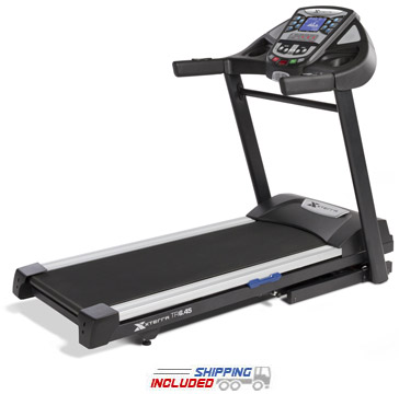 XTERRA Fitness Residential Folding Treadmill on Clearance