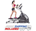 Light Commercial Adjustable Stride Elliptical Trainer