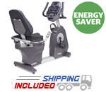 Spirit Fitness CR800 Commercial Recumbent Fitness Bike