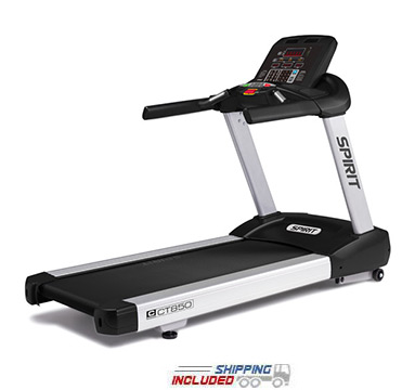 Spirit Fitness CT850 Commercial Treadmill for Club Use and GSA Purchase