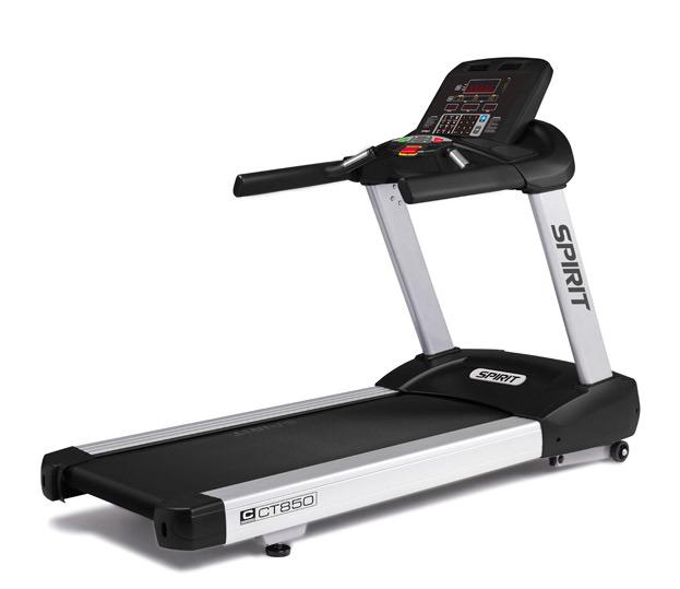 True Elliptical Company: Commercial Treadmill -- Spirit Fitness (CT850