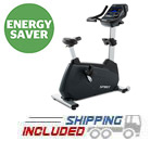 Spirit Fitness CU900 Commercial Upright Exercise Bike on GSA Contract