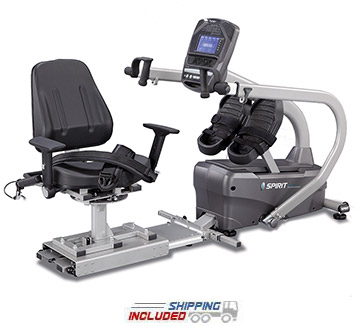 Spirit Fitness MS350 Full Body Stepper with 360 Degree Seat Rotation