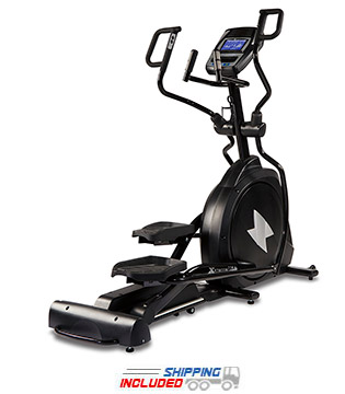 XTERRA Fitness Free Style 5.8e Incline Elliptical Trainer with Multi-Grip Handlebars