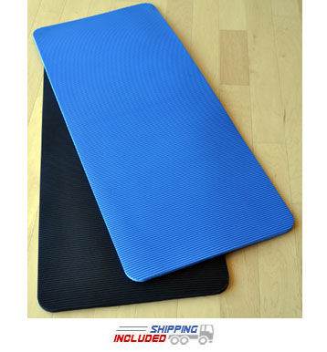SPRI Premium Closed Cell Foam Exercise Mats with non-slip ribbed surface
