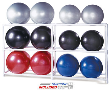 12 BALL PVC Ball Storage Rack