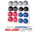 16 BALL PVC Ball Storage Rack