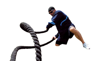 Spri Heavy Rope in use