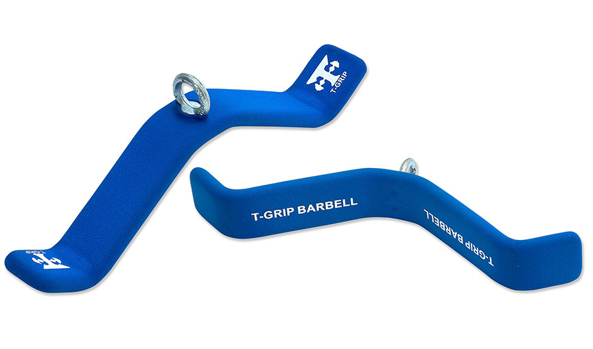 Flat Triceps Handle Attachment T Grip Barbell Tg Flt