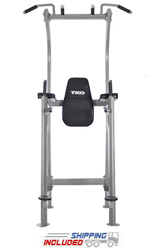 TKO 870VKR-B Vertical Knee Raise / Dip / Pull Up Power Tower