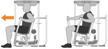 Chest Press Machine Exercises