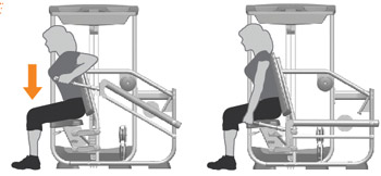 Triceps Press Machine Exercises