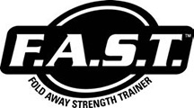 Fold away strength trainer