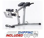 Evolution Light Commercial Adjustable Hyper-Extension Bench