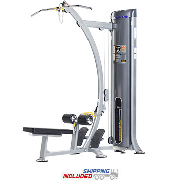 Tuff Stuff CG-9504 Selectorized Cal Gym Lat Pulldown / Low Row Combo