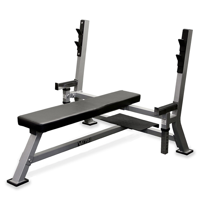 Marvelous Safety Stands For Bench Press Part - 11: Valor Athletics BF-48 Olympic Bench Press Max