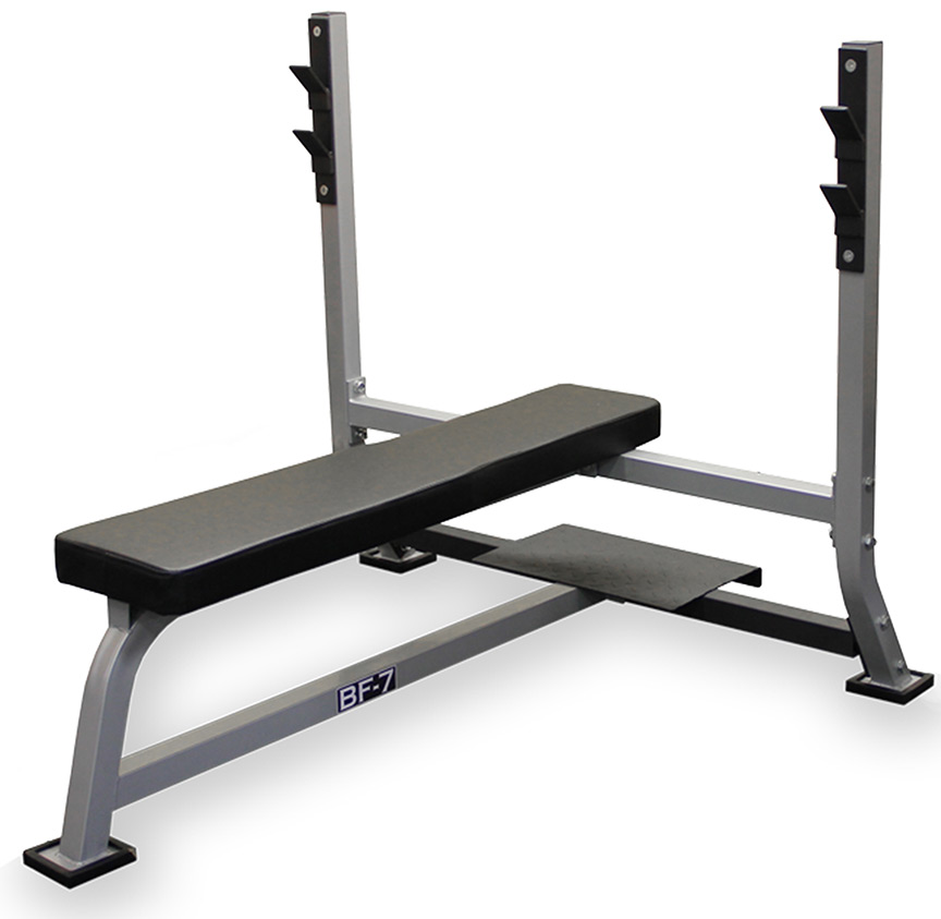 Hammer Strength Olympic Weight Flat Bench: Flat Olympic Bench -- Valor Fitness (BF-7