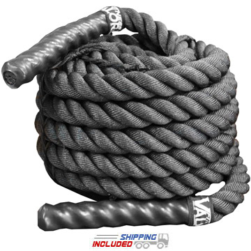 Black Power Conditioning Rope without Sheath